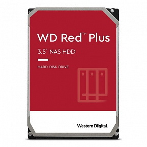 "HDD 8 Tb SATA 6Gb/s Western Digital Red Plus <WD80EFBX> 3.5""  7200rpm 256Mb"