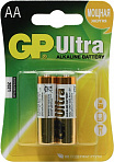 GP Ultra 15AU-CR2 (LR6) Size AA, щелочной  (alkaline)  <уп. 2  шт>