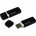 Qumo Optiva <QM16GUD-OP2-Black> USB2.0  Flash  Drive 16Gb  (RTL)