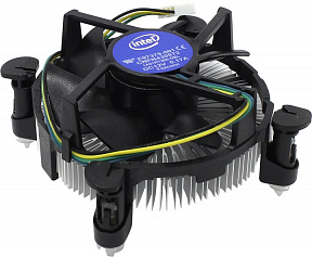 Intel Cooler (4пин, 1150/1155/1156,Al) Low Profile