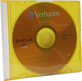 DVD+R Disc Verbatim 4.7Gb  16x <43556/43657/43515>